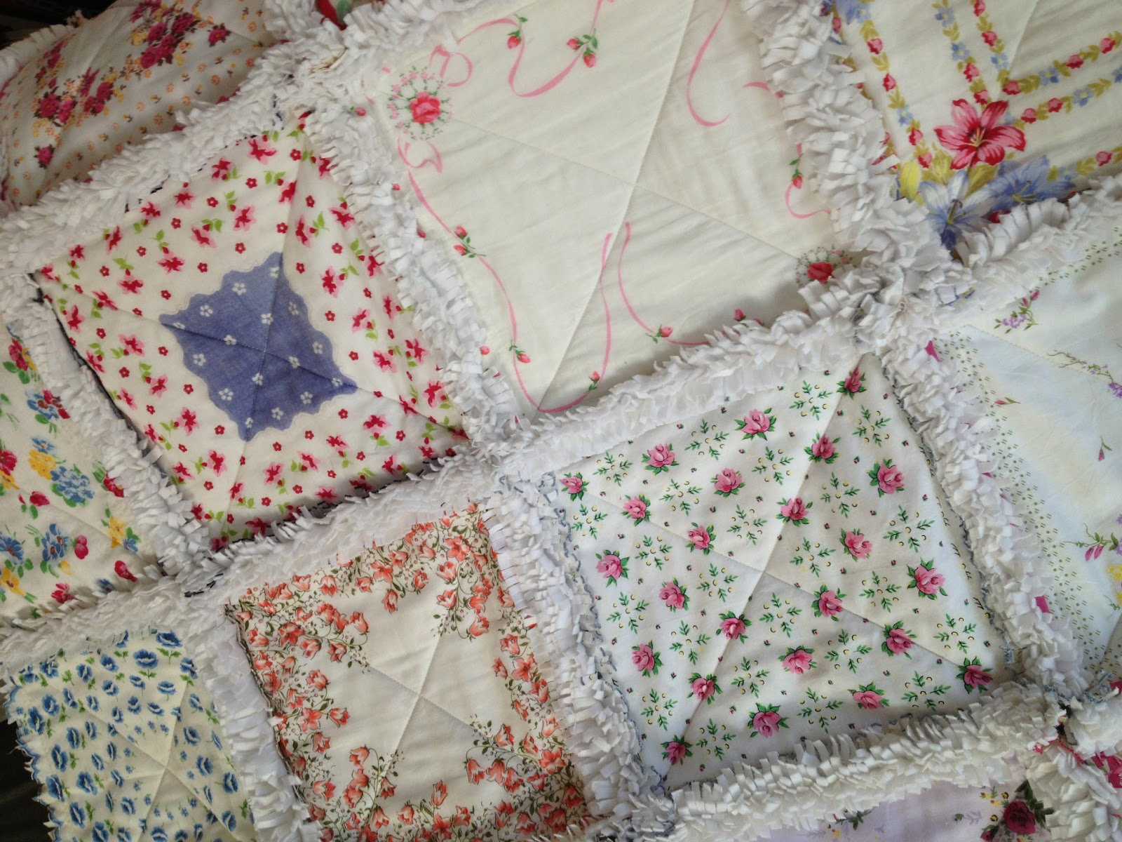 Zeedlebeez how to make a handkerchief rag quilt