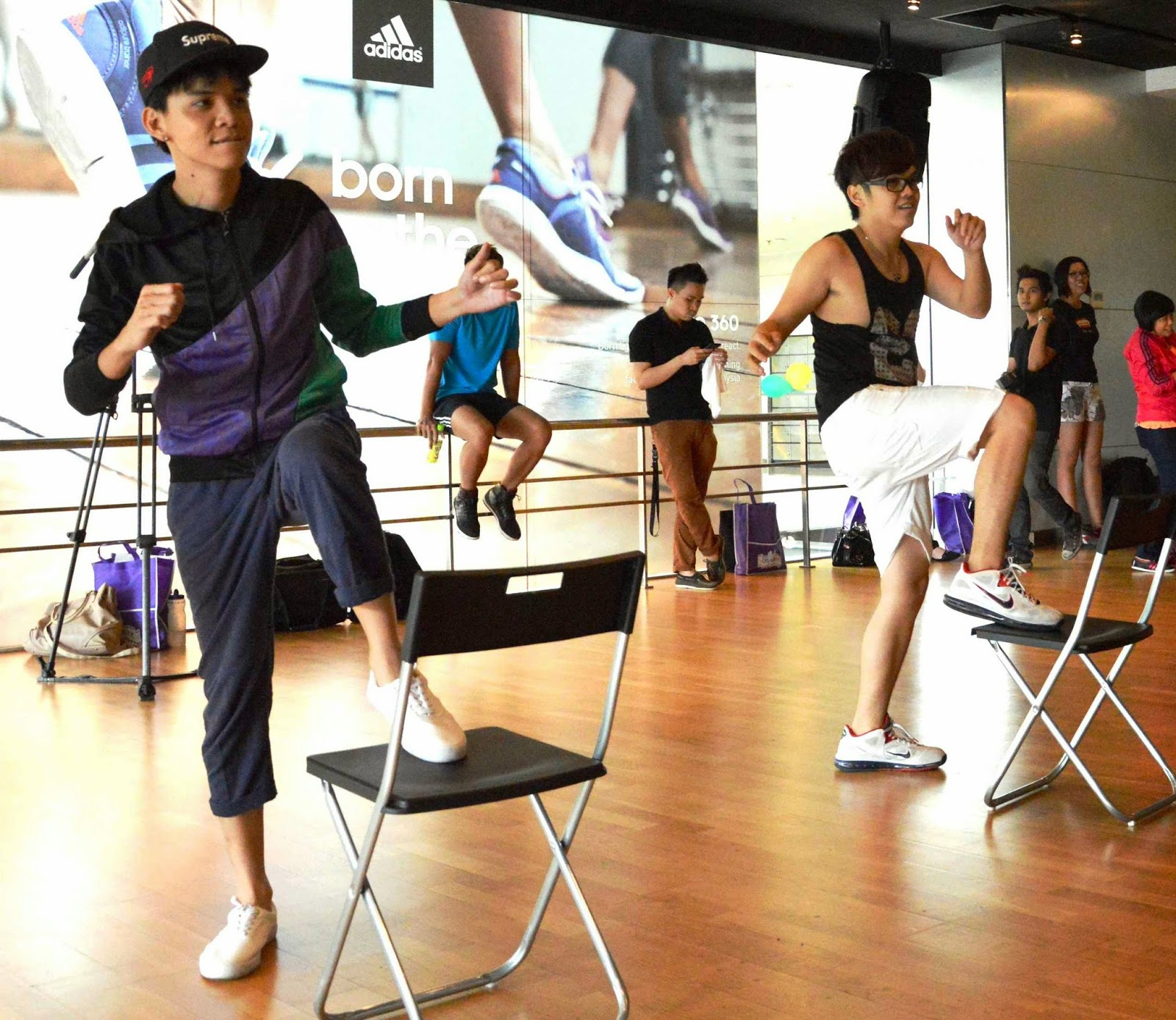 Celebrity Fitness Malaysia launched the new Zumba Step and ...