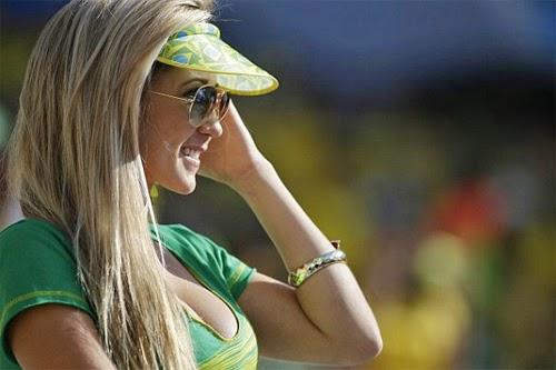 Gái xinh world cup 2014