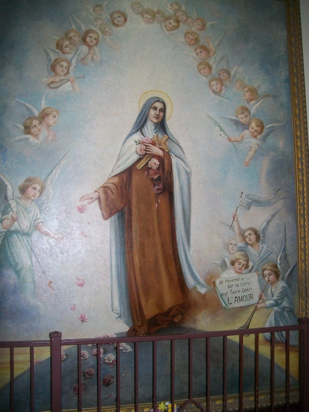 Incidental Roses in the Life of St Thérèse
