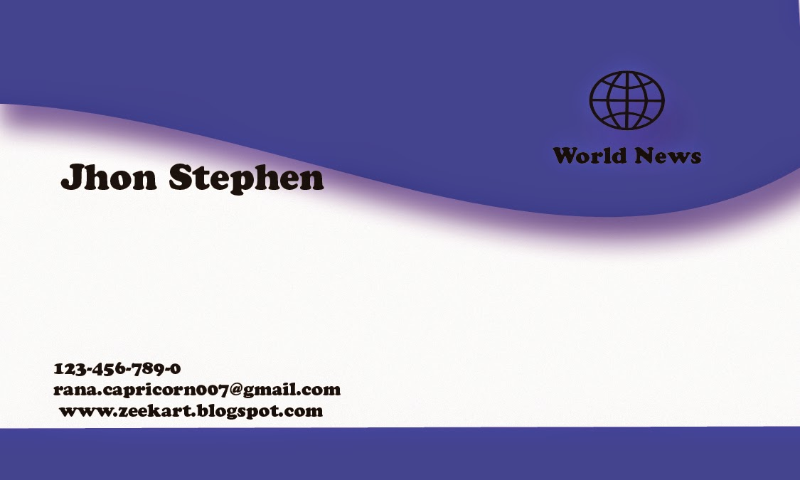 simple business card - Free business cards design