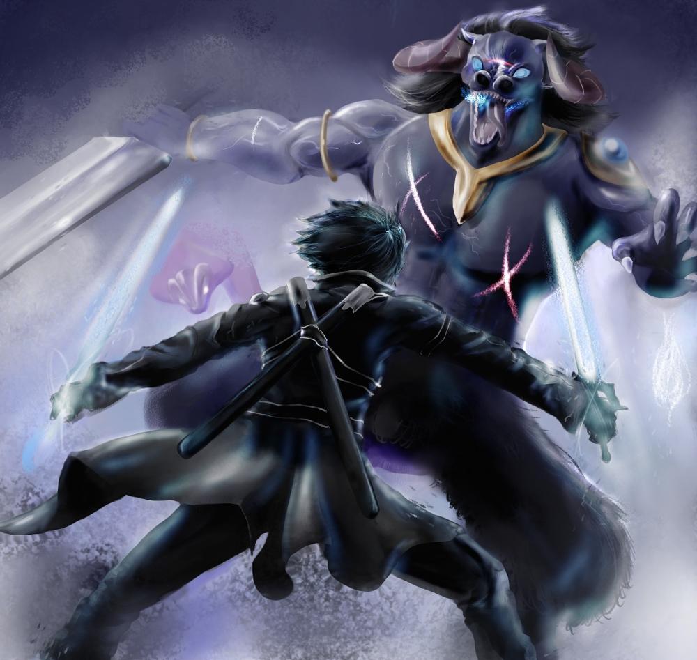 Sword Art Online Kirito HD Wallpaper 1000x947 | Your daily ...