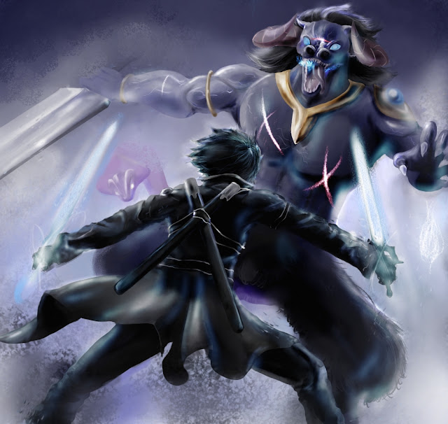 Sword Art Online Kirito Wallpaper 0011