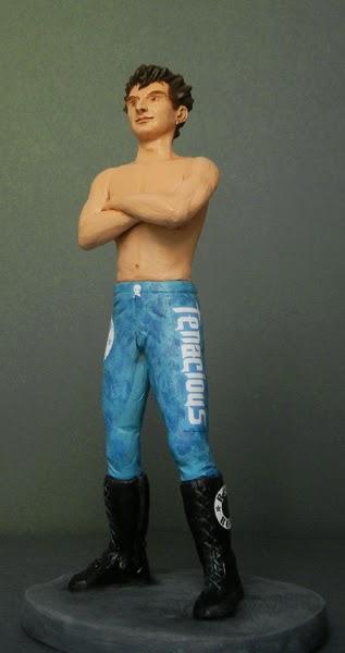 action figure personalizzata lottatore wrestling regali originali orme magiche