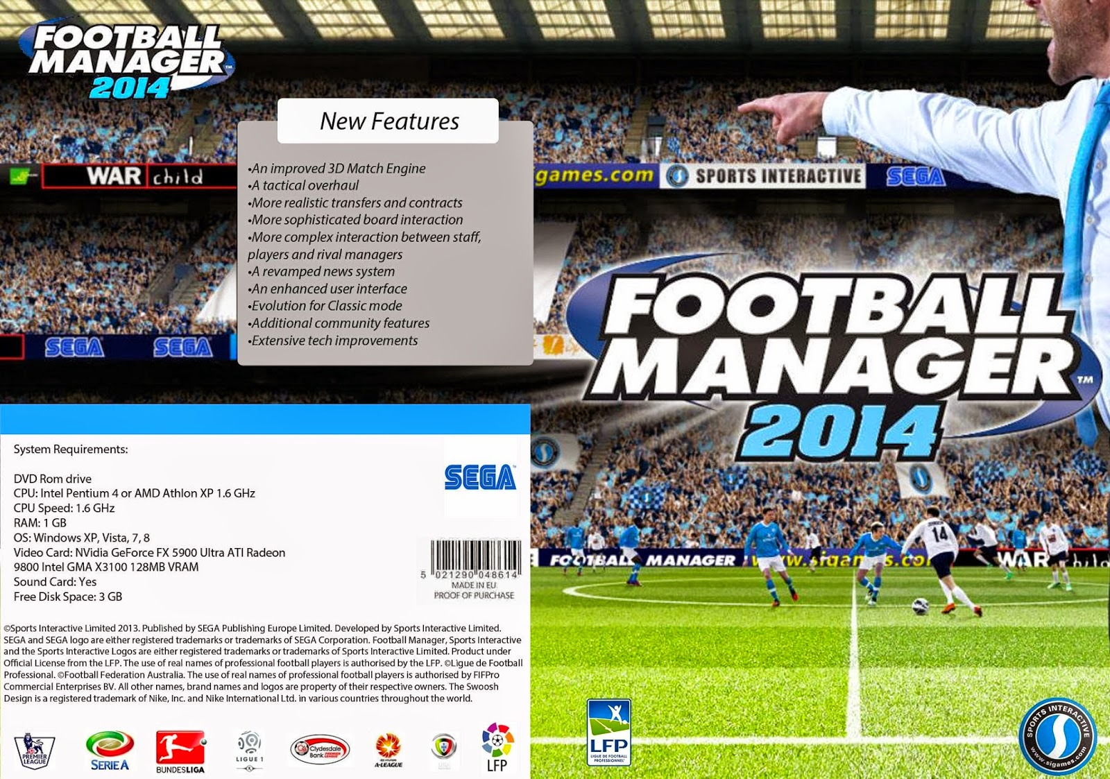 Football Manager 2014 para Linux