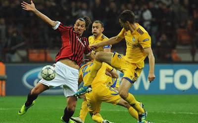 BATE Borisov 1 - 1 AC Milan (3)