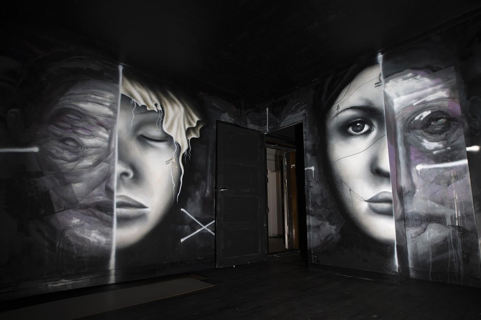 Art Show, Competition, Creation, Creativity, Exhibition, French Artist, La Tour, Mehdi Ben Cheikh, Painting, Paris Shows, Street Art works, Tour Paris 13,