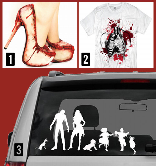 Cool Zombie Clothing and Accessories