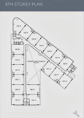 Mapex @ Jalan Pemimpin 8th storey Floor Plans