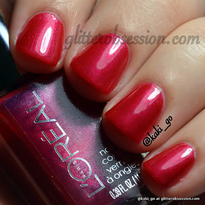 L'Oreal The Queen's Might swatch