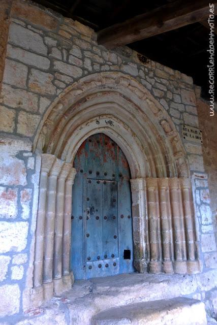 portada de Ermita de Sta. María de la Hoz
