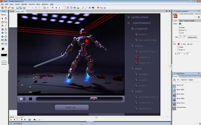 MicromediaFlash untuk menghasilkan animasi