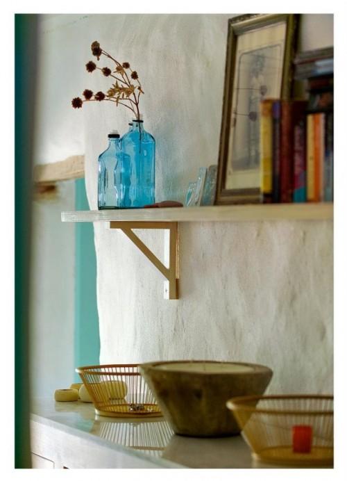 decoracao interiores casas alentejanas:simplicidade da decoração não de deve a um estilo decorativo mas