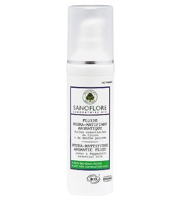 Sanoflore fluido Hidra-Matificante Aromático piel mixta