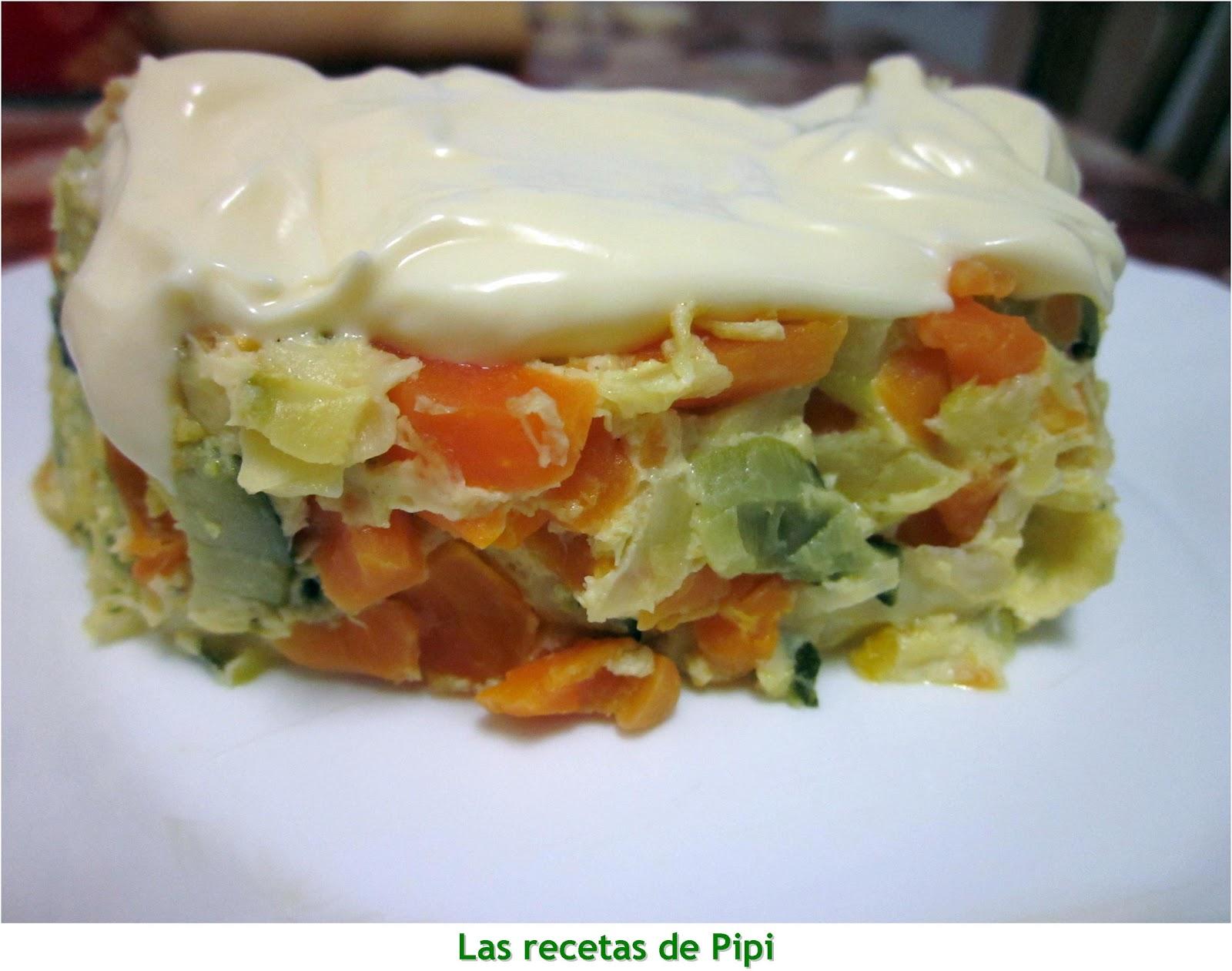 Pastel de verduras thermomix utilizando thermomix cocina for Cocina thermomix facil