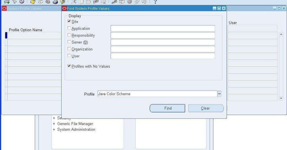 ITToolkit: How to change form interface colour in Oracle APPS