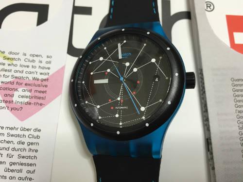 Swatch SISTEM51の表面