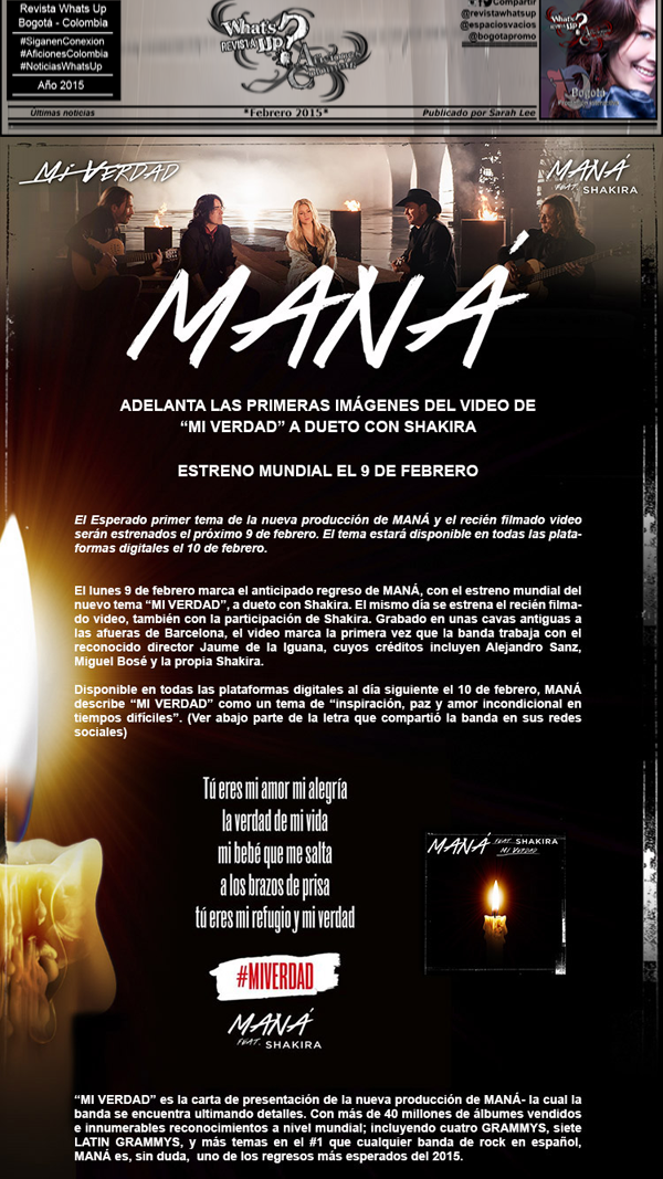 MANA-Regresa-nuevo-álbum-nuevo-sencillo-MI-VERDAD-dueto-SHAKIRA