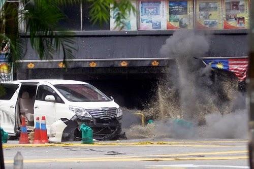 Polis Buru Ah Hai Suspek Utama Letupan Di Bukit Bintang