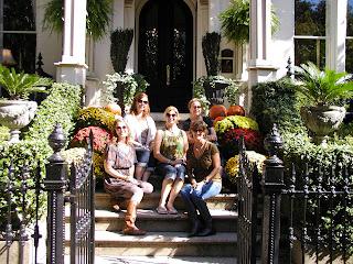 steps of historic Savannah house