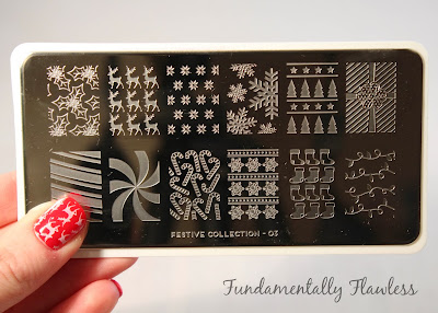 MoYou Festive Collection 03 Stamping Plate