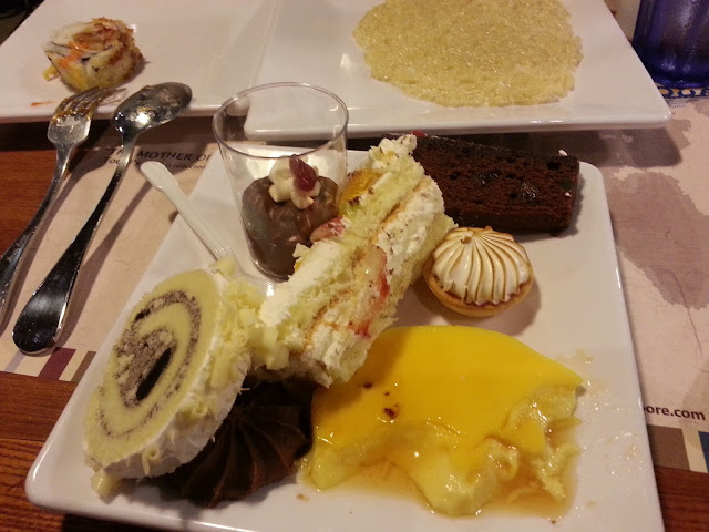 todai restaurant buffet dessert