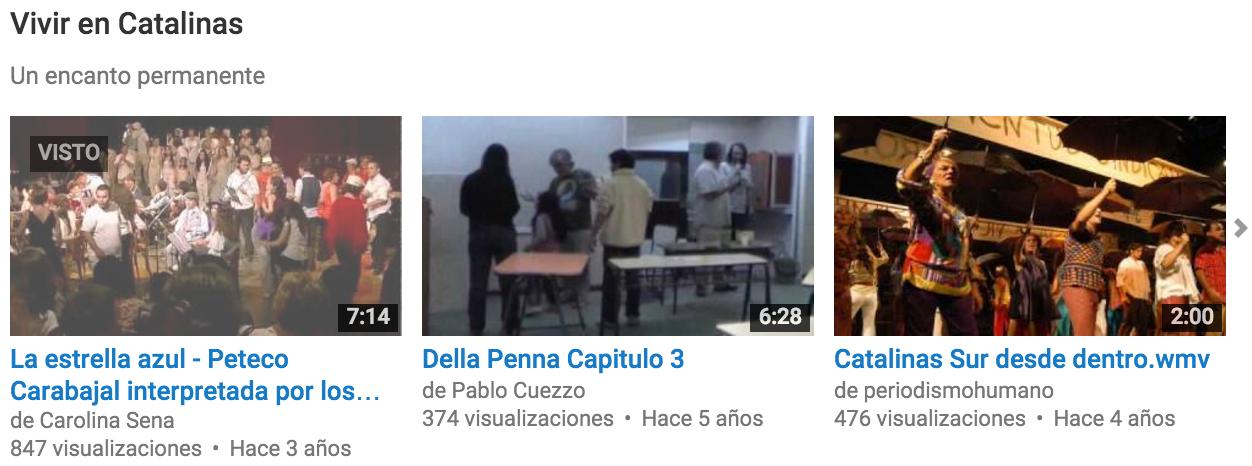 Videos del barrio