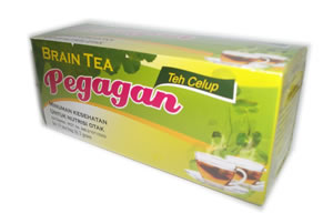 jual tea daun pegagan herbal insani murah nutrisi otak