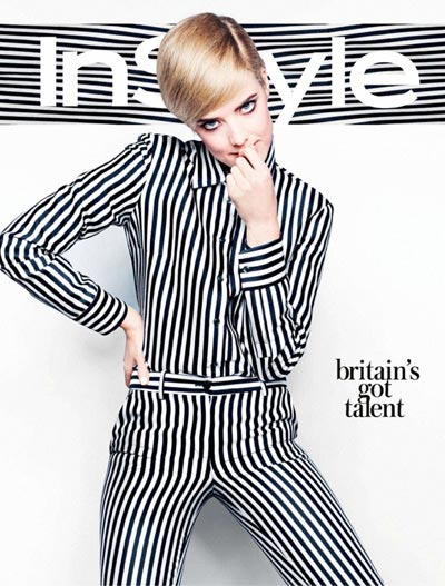 agyness deyn in style uk march 2013