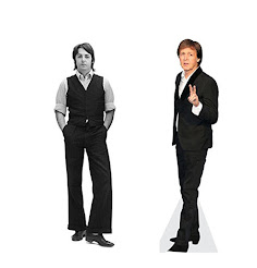 Paul McCartney Life Size Cutout