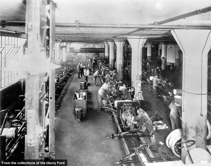 Ford's Moving Assembly Line Turns 100 Years Old