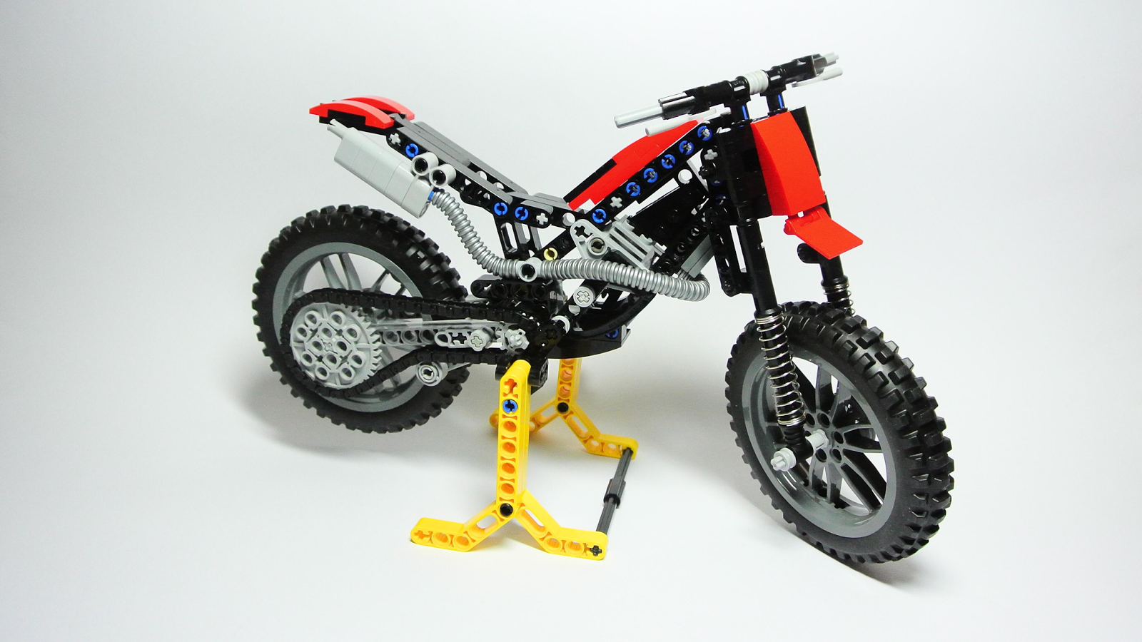 lego technic motorcycles trial motorcycle instructions. Black Bedroom Furniture Sets. Home Design Ideas