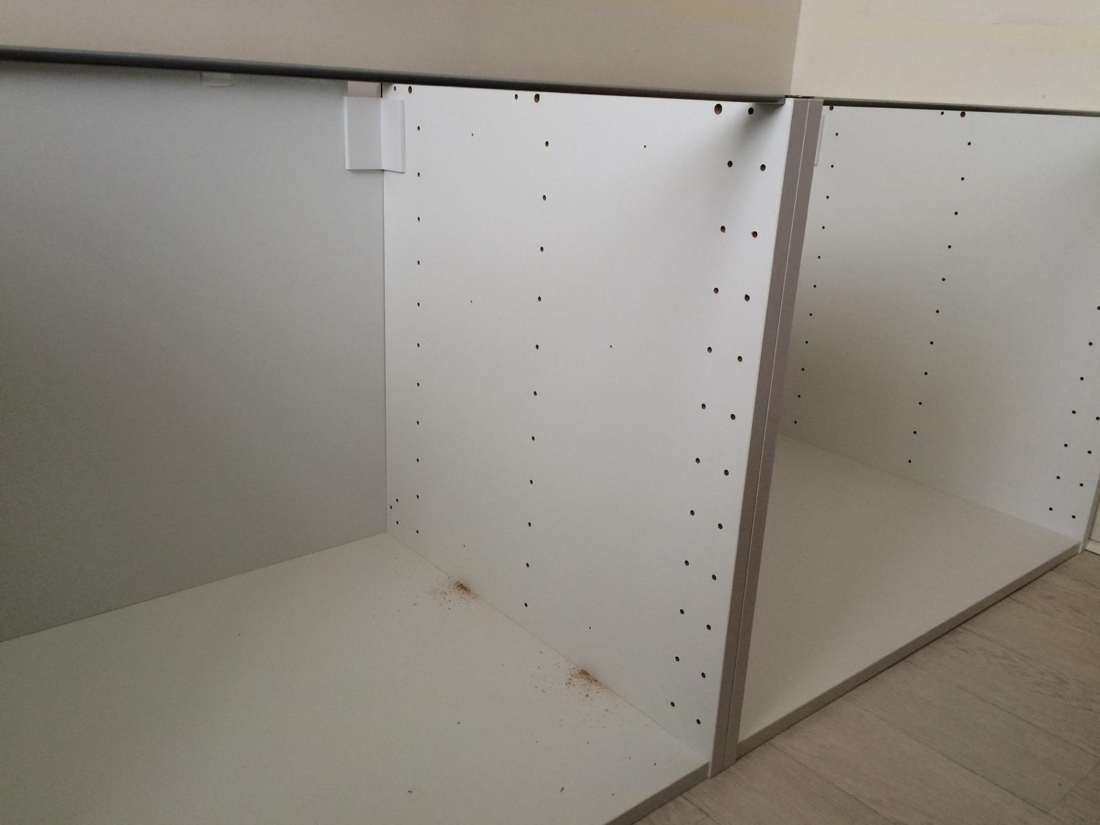 Les miettes de tisha for Structure meuble cuisine