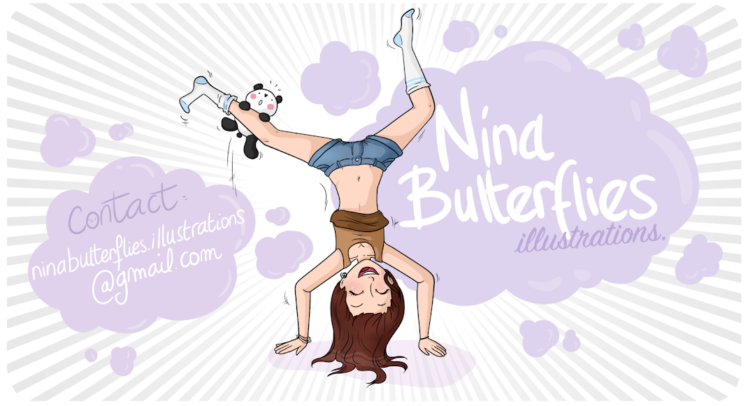 Nina Butterflies Illustrations