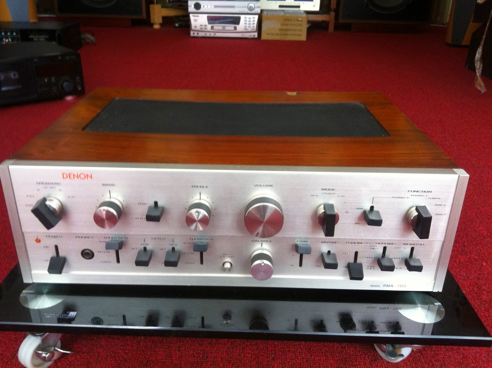 Amply Denon 700 - Made in Japan