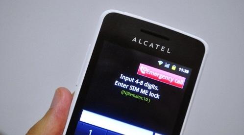 handphone digi alcatel one touch glory 2s, handphone alcatel digi RM50 ...