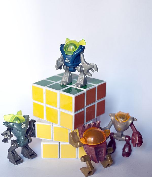 3x3x4 Fail Rubik Robot