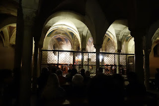 San Miniato Florence Italy Gregorian Chant mass in Latin