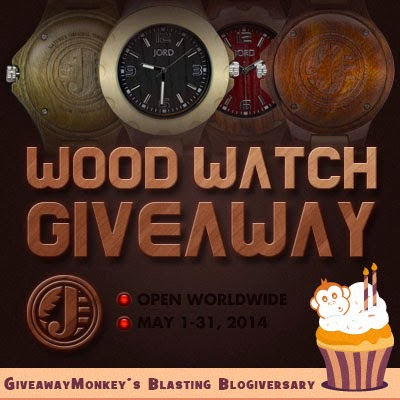JORD Wood Watch Worldwide Giveaway