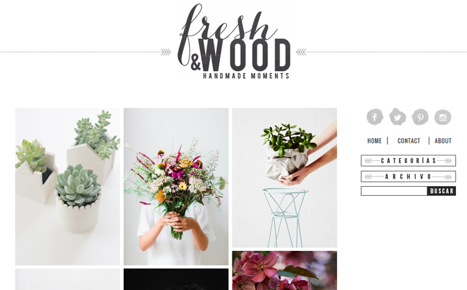 fresh and wood blog