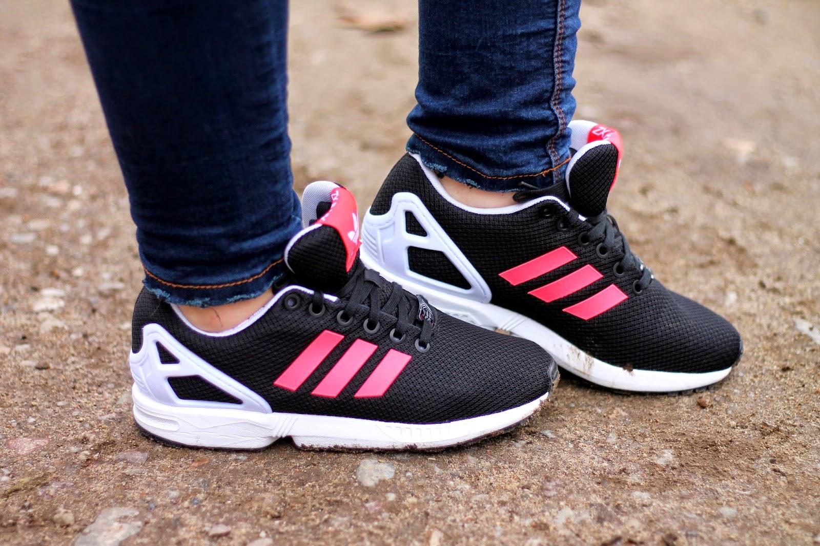 adidas zx flux czarne zalando