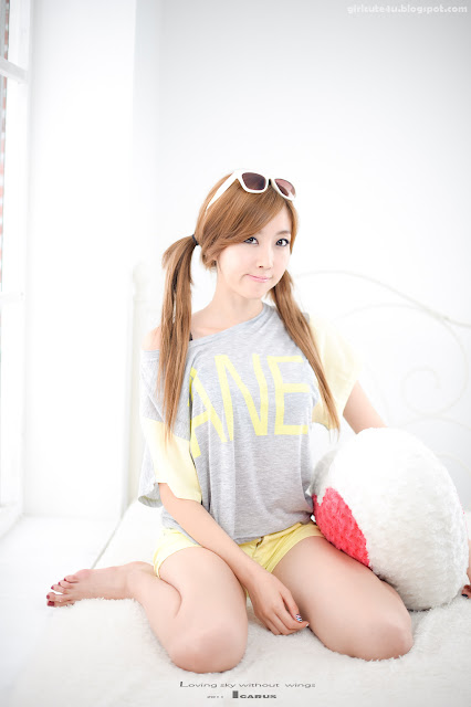 Choi-Byul-I-Yellow-and-Grey-03-very cute asian girl-girlcute4u.blogspot.com