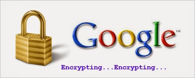 Google Encryption, Google SSL, Google encrypted mail, Google security updates