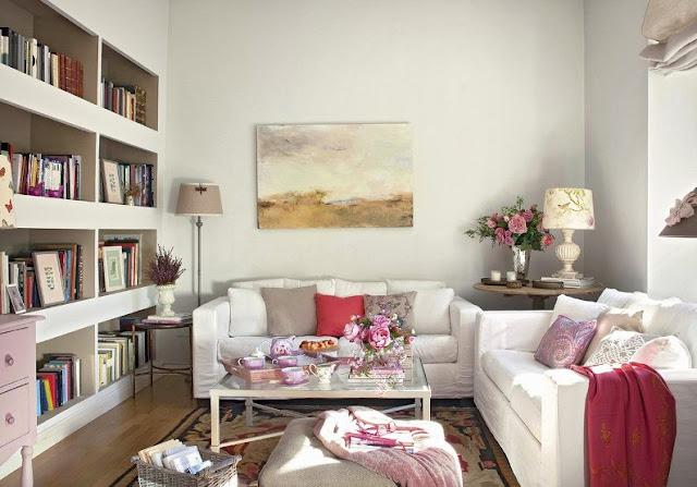 blog decoración una casa romántica