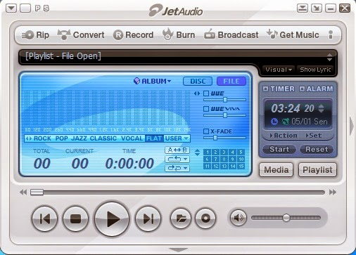 Download JetAudio Terbaru atau latest version