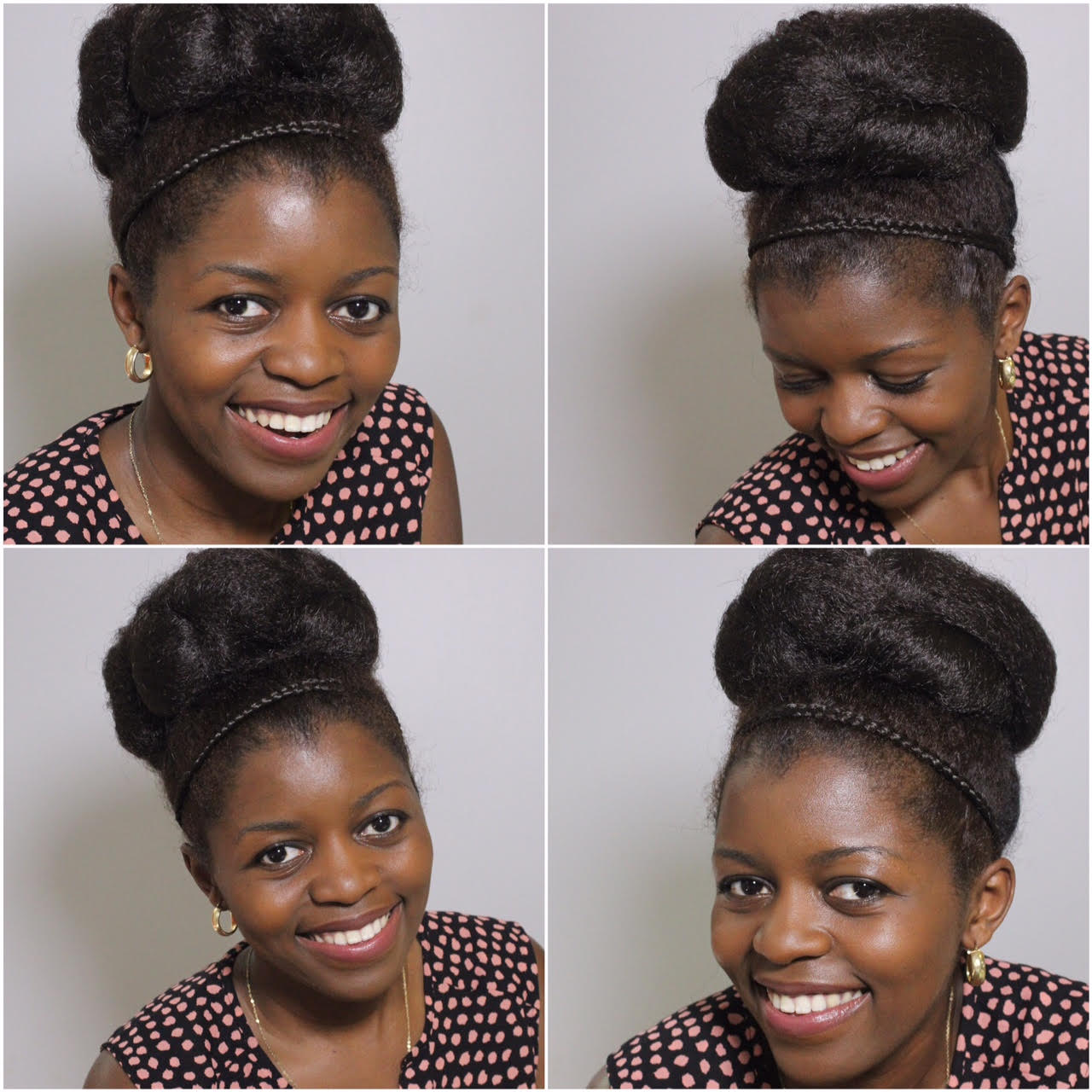 Elegant Twisted High Bun For Special Occasions Curlynikki