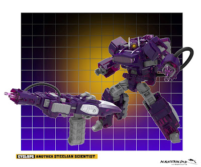 Mastermind Creations Cyclops (Transformers Shockwave) Generations/Classics Sized Figure
