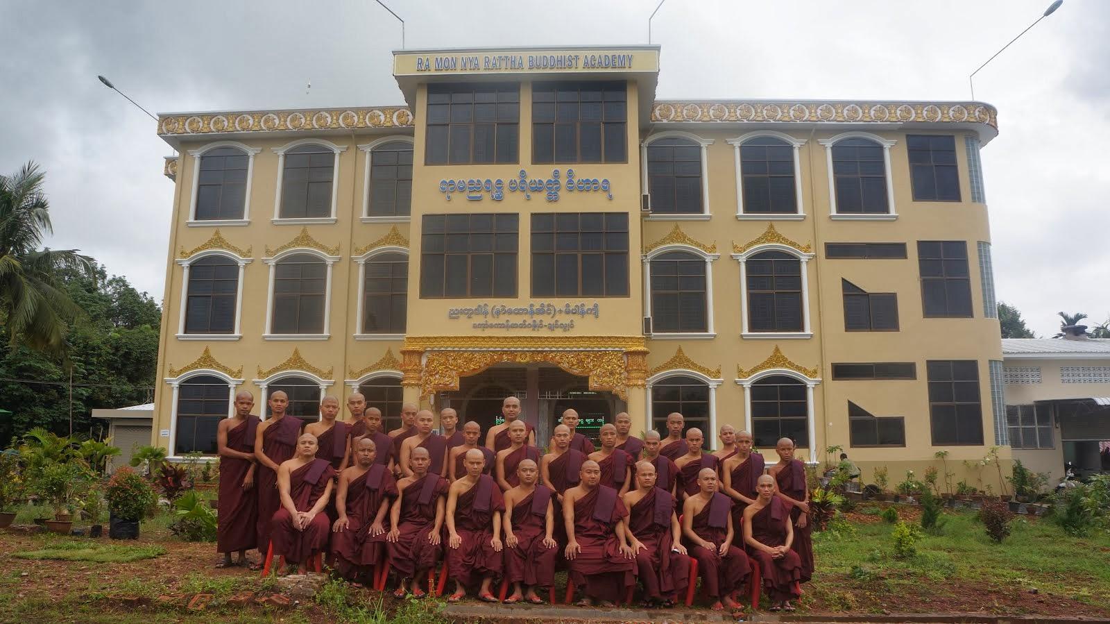 At Ramannyarattha Vihara