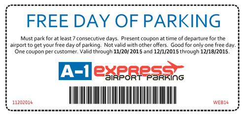 Bwi parking coupons long term
