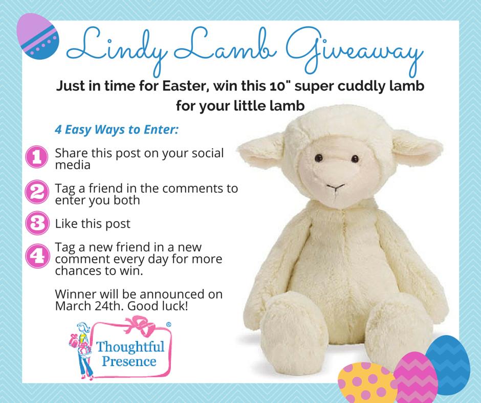 Lindy Lamb Giveaway